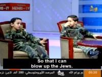 Palestyński chłopiec chce zostać inżynierem żeby wysadzać Żydów w powietrze