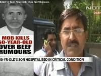 Tłum zlinczował mężczyznę w Indiach, gdy wyszło na jaw, że  zjadł wołowinę