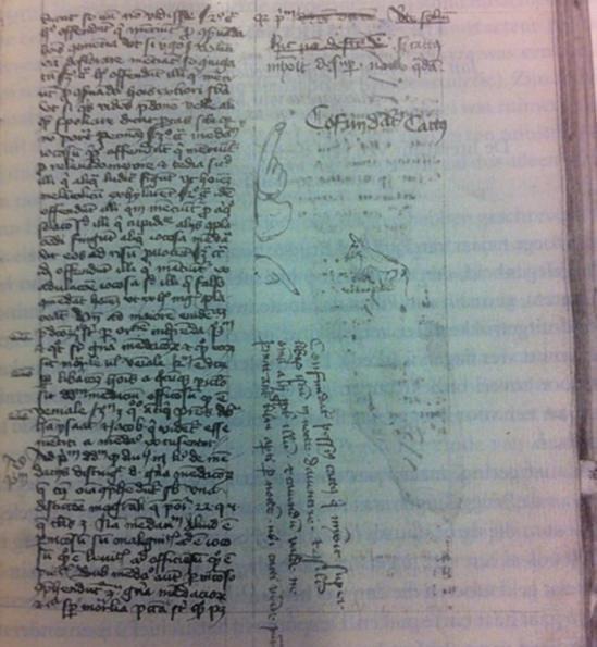 Księga z Deventer, średniowiecze