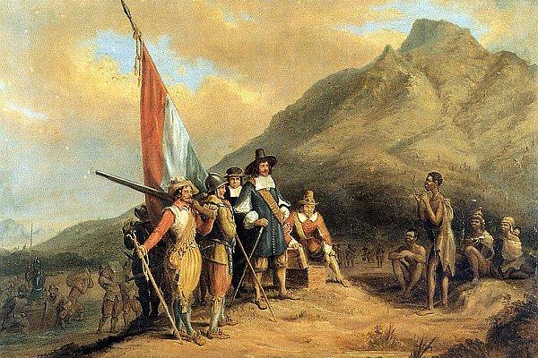 Przybycie Jana Van Rieebecka