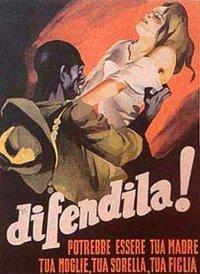 Włoski plakat propagandowy