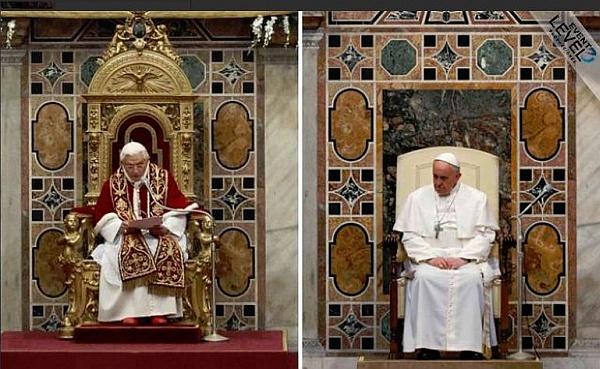 Tron papieża