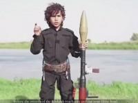 """Islamski chłopczyk grozi Obamie, """"Zapłać podatek psie, albo utniemy ci głowę"""""""