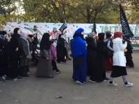Marsz organizacji islamskiej w Danii