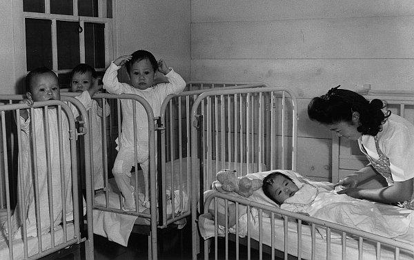Rodziły się też dzieci