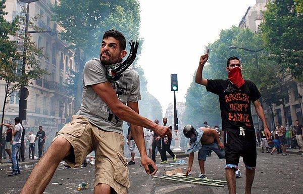 arabskie zamieszki paryż