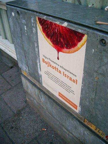 bojkotujcie izrae szwedzki plak