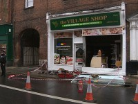 Angielscy rasiści podpalili rumuńską piekarnię w Norwich