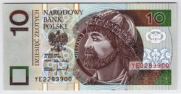 wegańskie banknoty