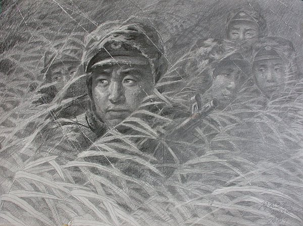 Na tyłach wroga koreańskie malarstwo