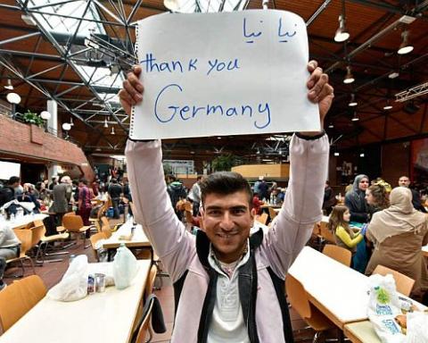 muzułmanie pozywają Niemcy